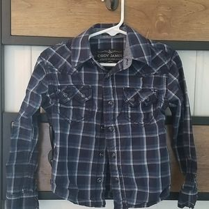 Western button up 2t Cody James gently worn